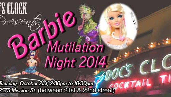 2014 Barbie Mutilation Flyer
